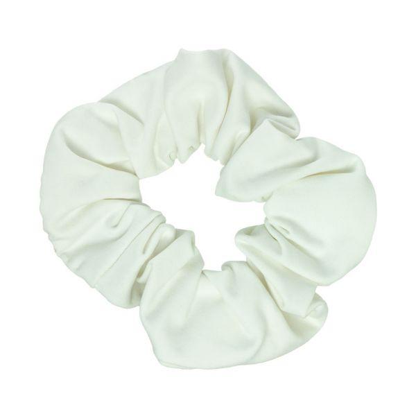 Scrunchie tela bañador con Lycra® Blanco