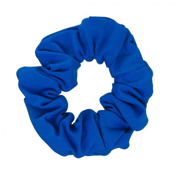 Scrunchie tela bañador con Lycra® Azul Cobalto