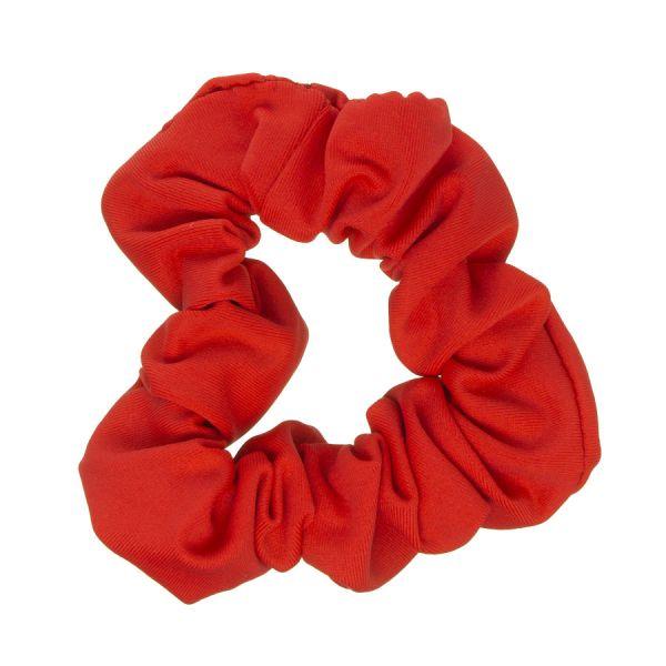 Scrunchie tela bañador con Lycra® Coral