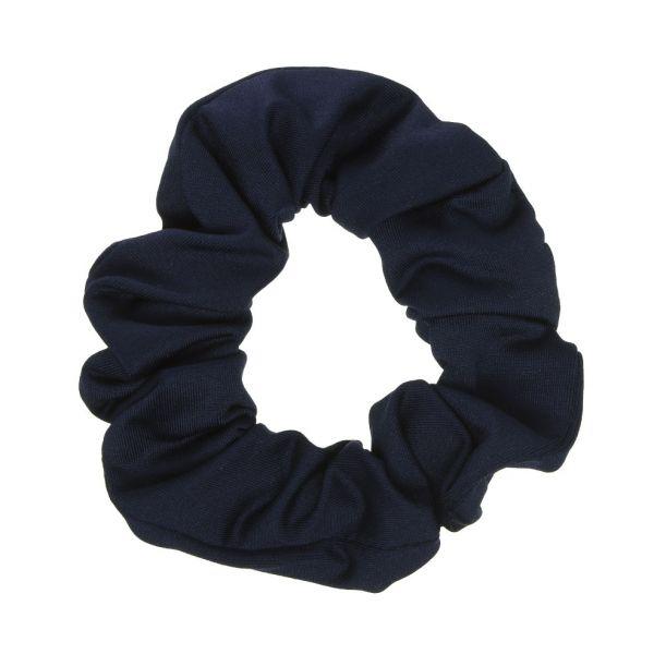 Scrunchie tela bañador con Lycra® Azul Marino