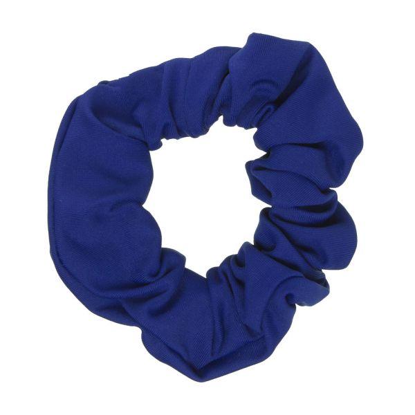 Scrunchie tela bañador con Lycra® Azulón