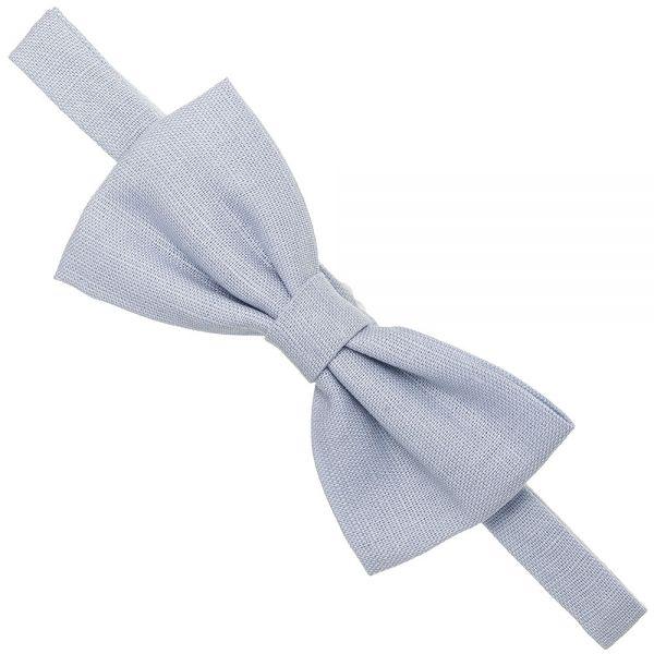 Pajarita para niño de lino Azul Celeste