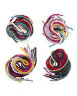 pack de 7 cordone de algodón para el pelo
