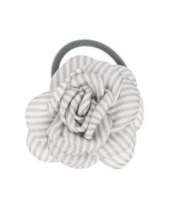 Coletero con flor de raya marinera 6,5 cm.
