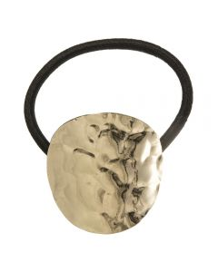 Coletero con círculo dorado repujado