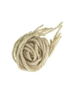 Pack 6 cordones de lana para el pelo