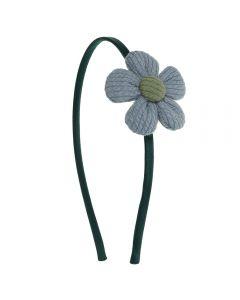 Diadema con flor de canalé n.81