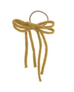 Coletero con lazada handmade in spain de lana acrílica