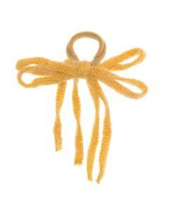 Coletero con lazo de cintas de lana