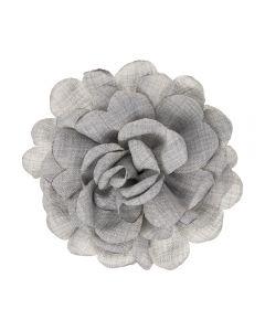 Dalia de lino 7 cm. sobre clip pico-pato