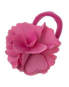 Coletero con flor de lycra® mediana 6 cm Rosa Francia