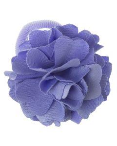 Coletero con flor de lycra® mediana 6 cm Lila