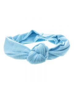 Turbante con nudo central para bebé