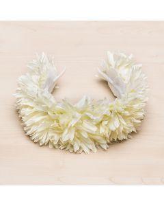 Maxi diadema Ondina con corona de flores