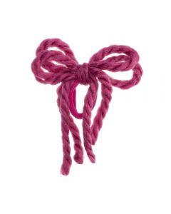 lazo-cordones-lana-pelo-coletero-rosa-fucsia