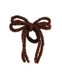 lazo-cordones-lana-pelo-coletero-marron-claro