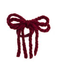 lazo-cordones-lana-pelo-coletero-rojo