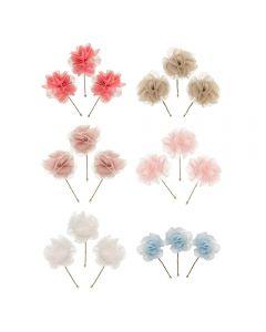 Pack de 3 florecitas para peinado
